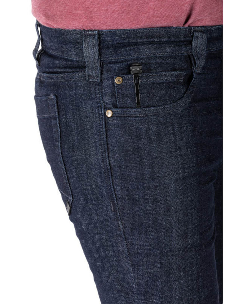 5.11 Tactical Men's Defender Flex Slim Fit Work Jeans , Indigo, hi-res