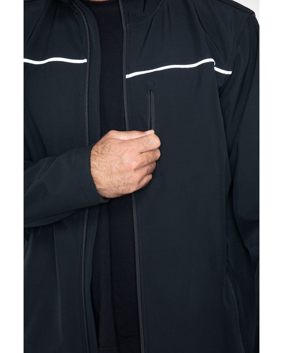 Hawx Men's Soft-Shell Work Jacket - Big & Tall , Black, hi-res