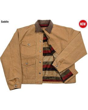 Schaefer Outfitter Men's Saddle Blanket Lined Vintage Brush Jacket , Brown, hi-res