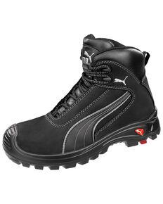 Puma Men's Cascade Safety Shoes - Composite Toe, Black, hi-res