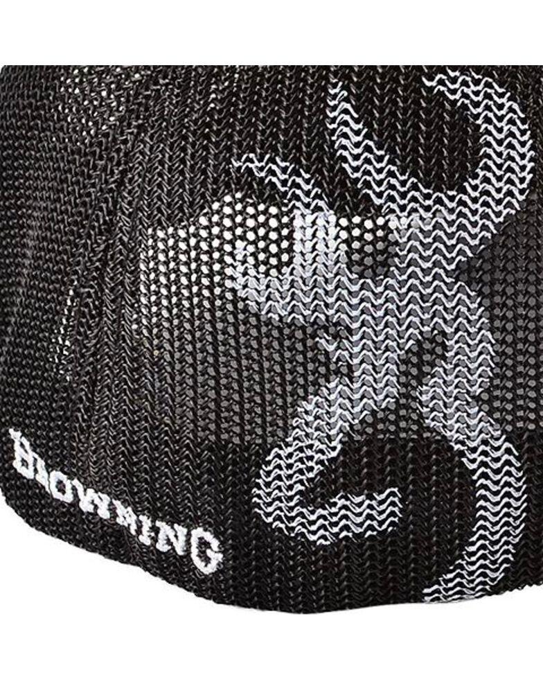 Browning Men's Embroidered Trucker Hat, Brown, hi-res