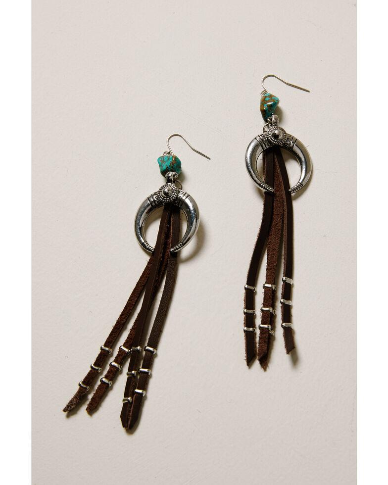 Idyllwind Women's In The Night Fringe Earrings, Silver, hi-res