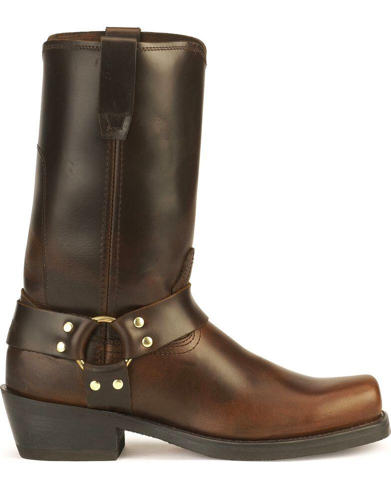 Durango Men's Harness Motorcycle Boots, Brown, hi-res