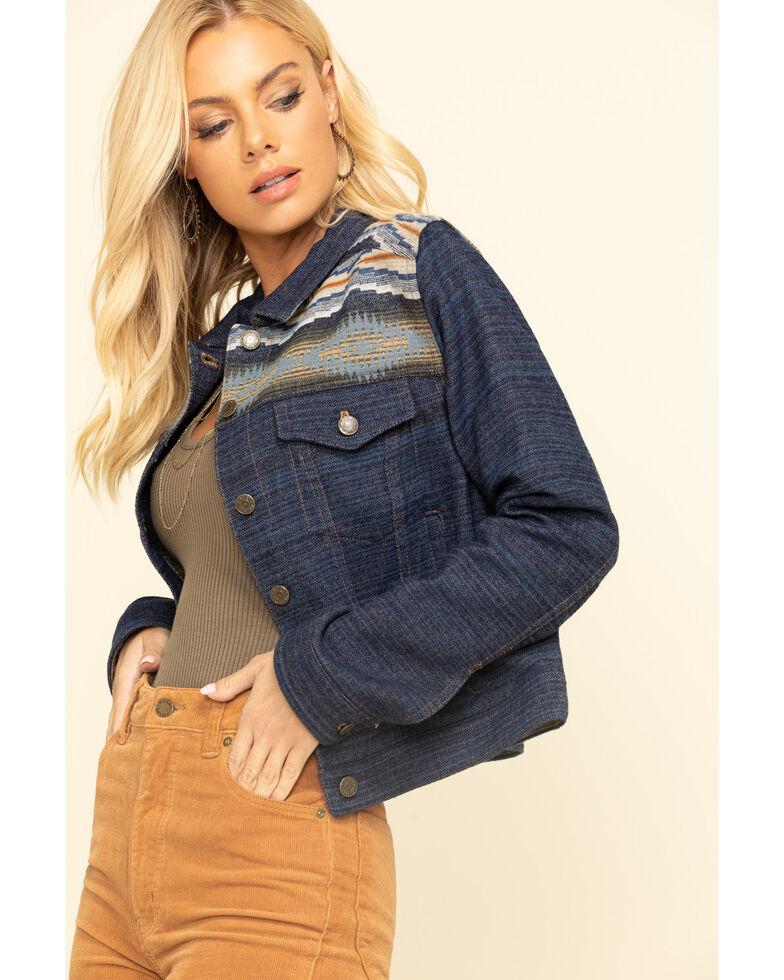 Pendleton Women's Ryder Wool Jacket , Navy, hi-res