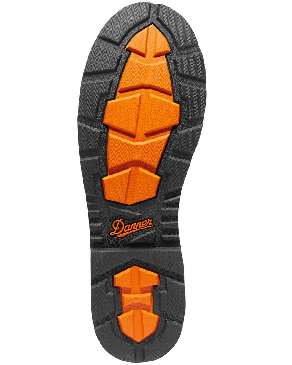 Danner Men's Brown Trakwelt Wellington Waterproof Boots - Round Toe , Brown, hi-res