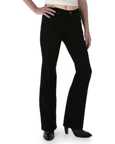 Wrangler Women's Black Magic Ultimate Riding Q-Baby Jeans - Plus , Black, hi-res