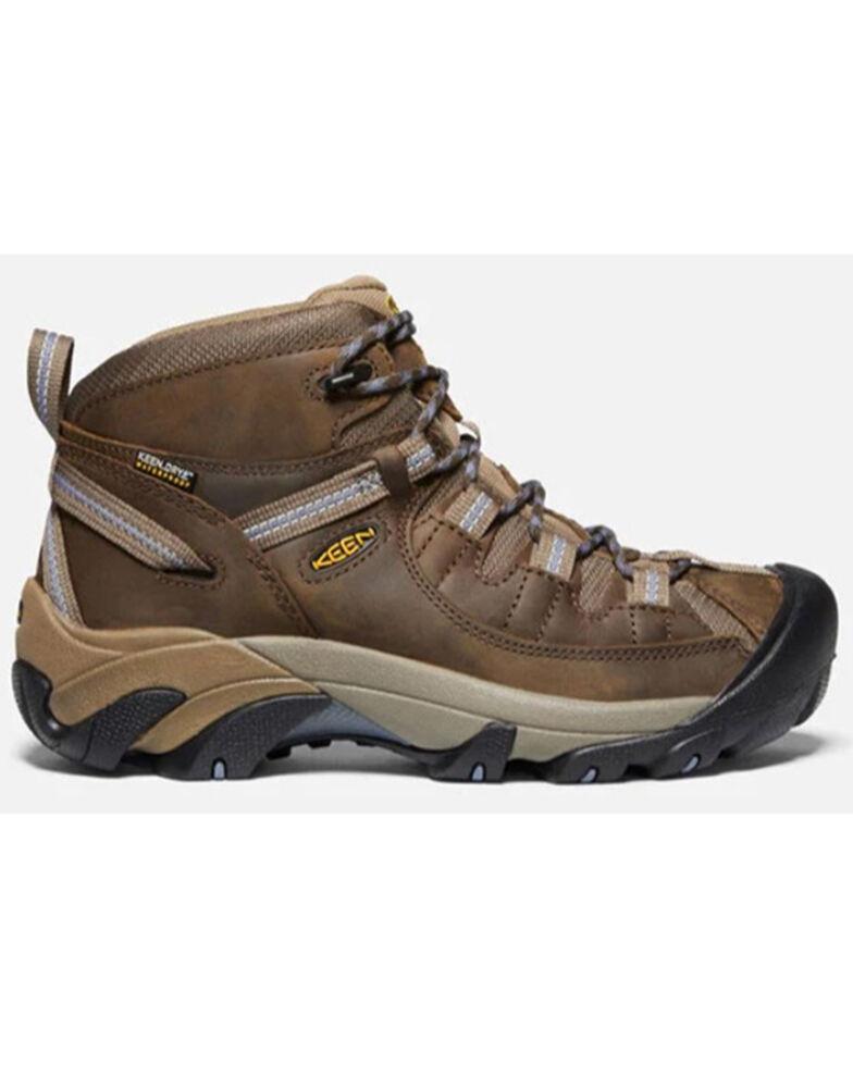 Keen Women's Targhee II Waterproof Hiking Boots - Soft Toe, Black, hi-res