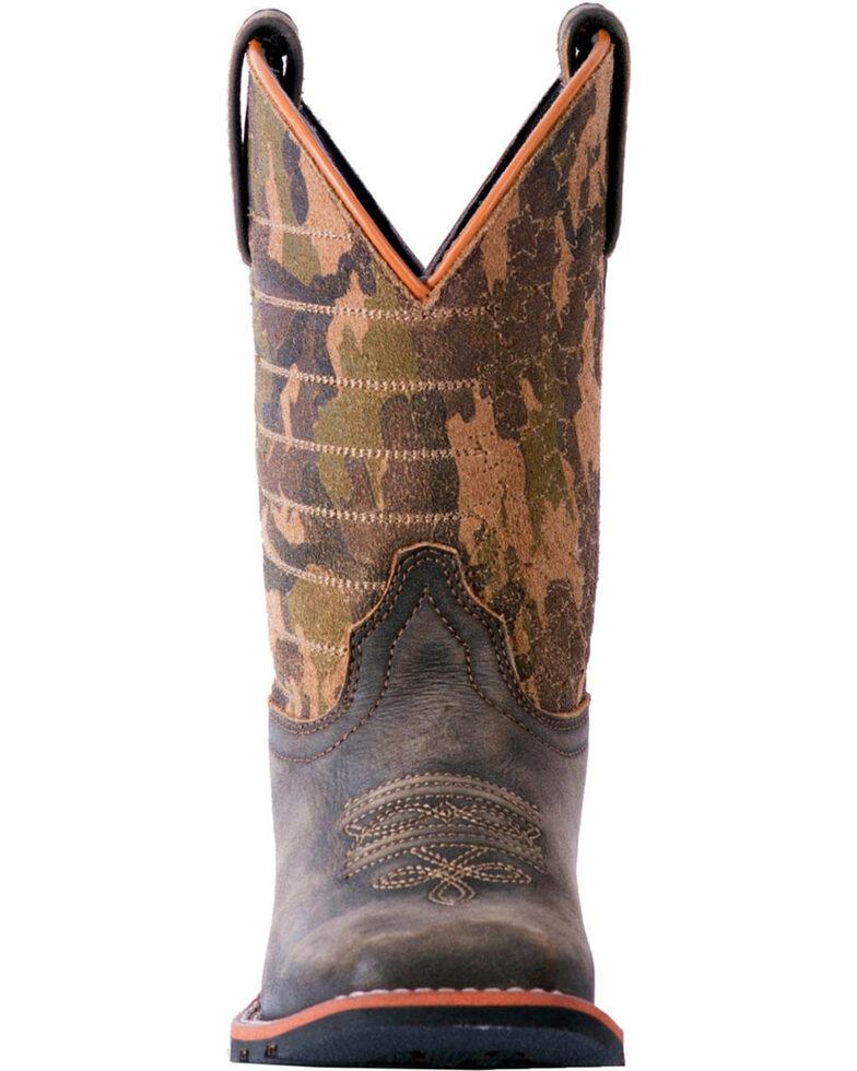 5dbb702e5b3 Dan Post Youth Boys' Foxtrot Camo Cowboy Boots - Square Toe