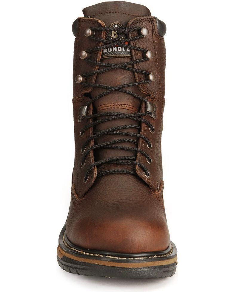"Rocky Ironclad 8"" Waterproof Work Boots, Bridle Brn, hi-res"