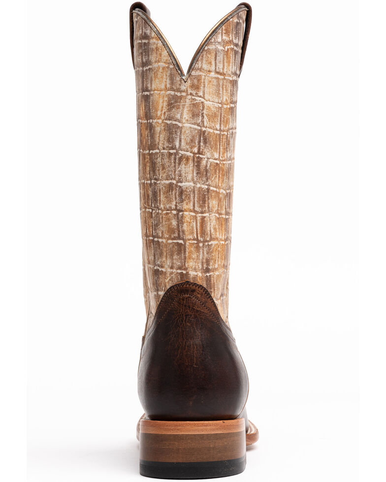 Shyanne Women's Wilder Western Boots - Wide Square Toe, Tan, hi-res
