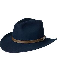 395d696ac82 Black Creek Men s Crushable Wool Navy Hat