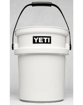 Yeti White Loadout Bucket , White, hi-res