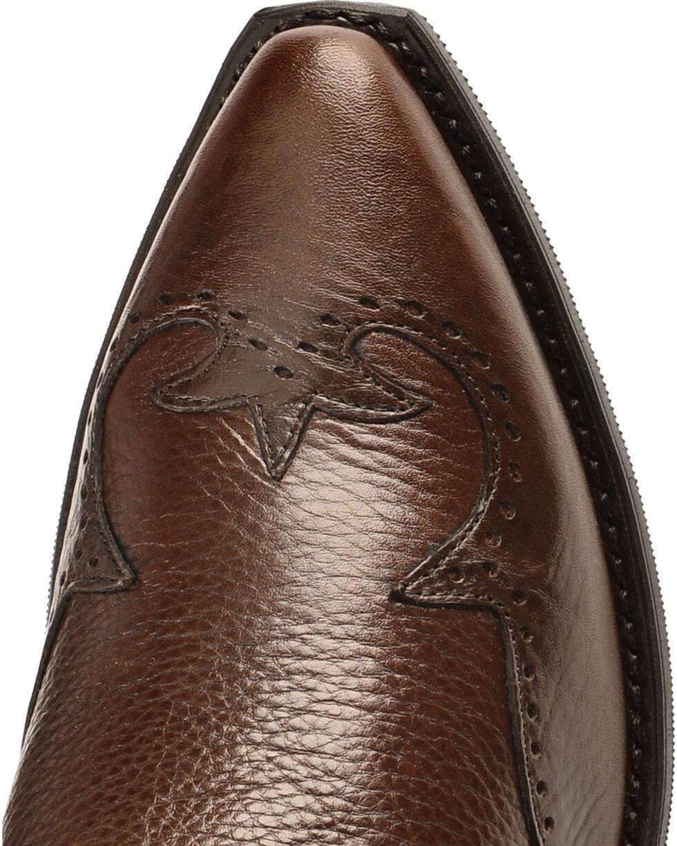 """Abilene Men's 7"""" Wingtip Zip Boots, Chocolate, hi-res"""