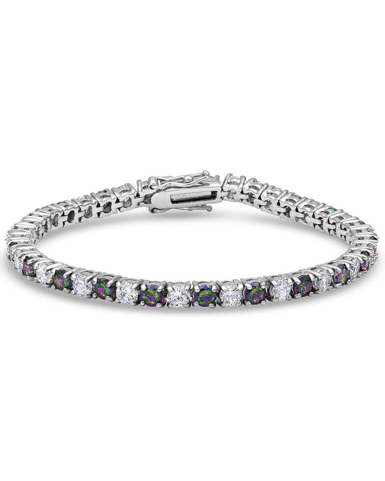 Montana Silversmiths Women's A String Of Northern Lights Bracelet, Silver, hi-res