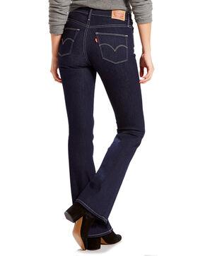 Levi's Women's Slimming Boot Cut Jeans, Blue, hi-res