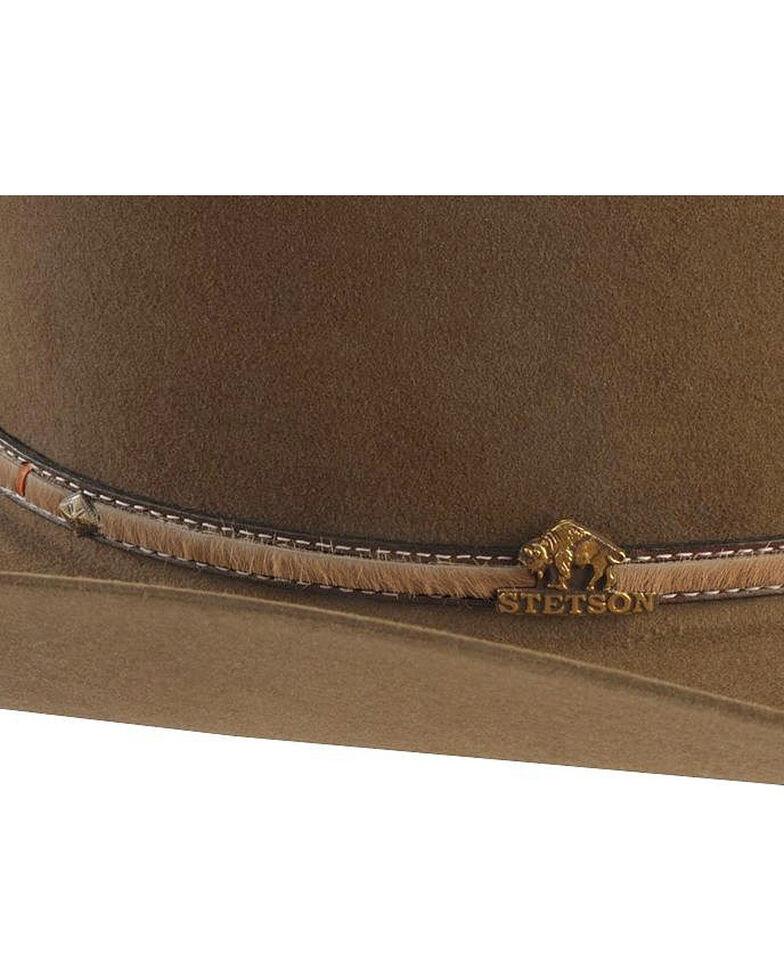 Stetson Powder River 4X Buffalo Fur Felt Hat, Mink, hi-res