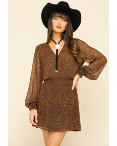 Show Me Your Mumu Women's Leopard Adelaide Dress, Multi, hi-res