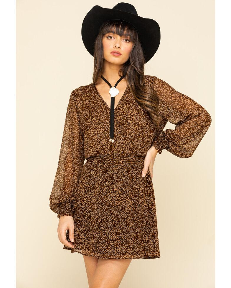 Show Me Your Mumu Women's Leopard Adelaide Dress, Multi, hi-res