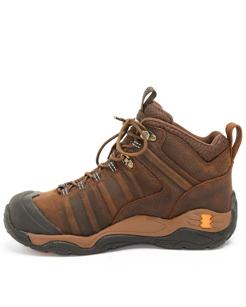 Hawx Men's Axis Hiker Boots - Composite Toe, Brown, hi-res
