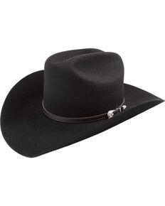Bailey Western Wichita Cowboy Hat, Black, hi-res