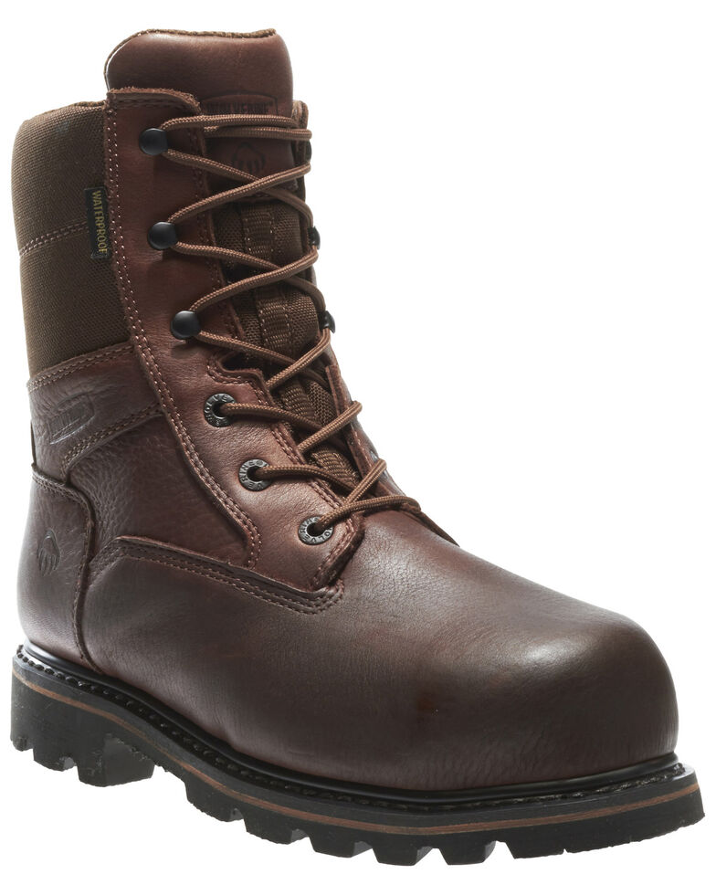 4359796b45e Wolverine Men's Novack Waterproof Composite Toe Work Boots