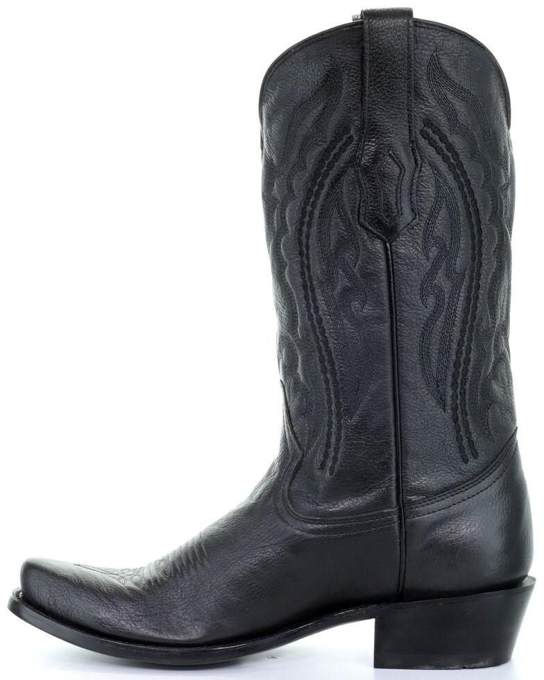 Corral Men's Will Black Western Boots - Narrow Square Toe, Black, hi-res