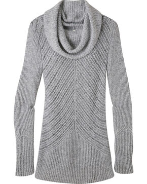 Mountain Khakis Women's Charcoal Countryside Cowl Neck Sweater, Charcoal Grey, hi-res