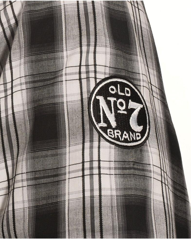 Jack Daniels's by Wrangler Long Sleeve Shirt, Black, hi-res