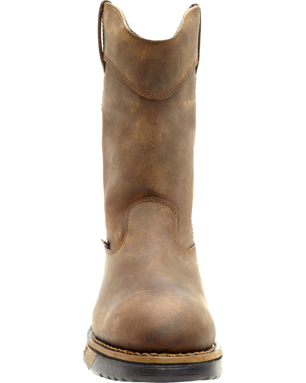 Rocky Men's Aztec Work Boots, Tan, hi-res