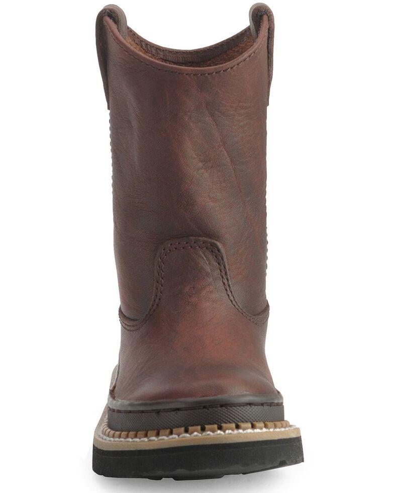 Georgia Children's Little Georgia Giant Wellington Boots, Brown, hi-res