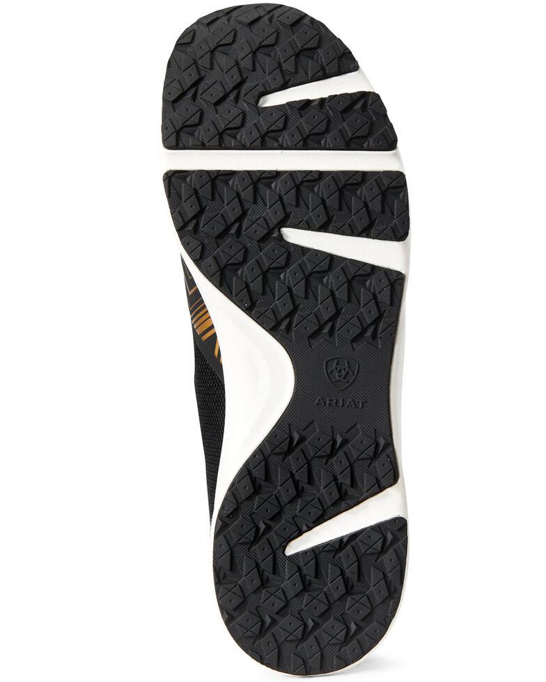 Ariat Women's Fuse Gold Shoes, Black, hi-res