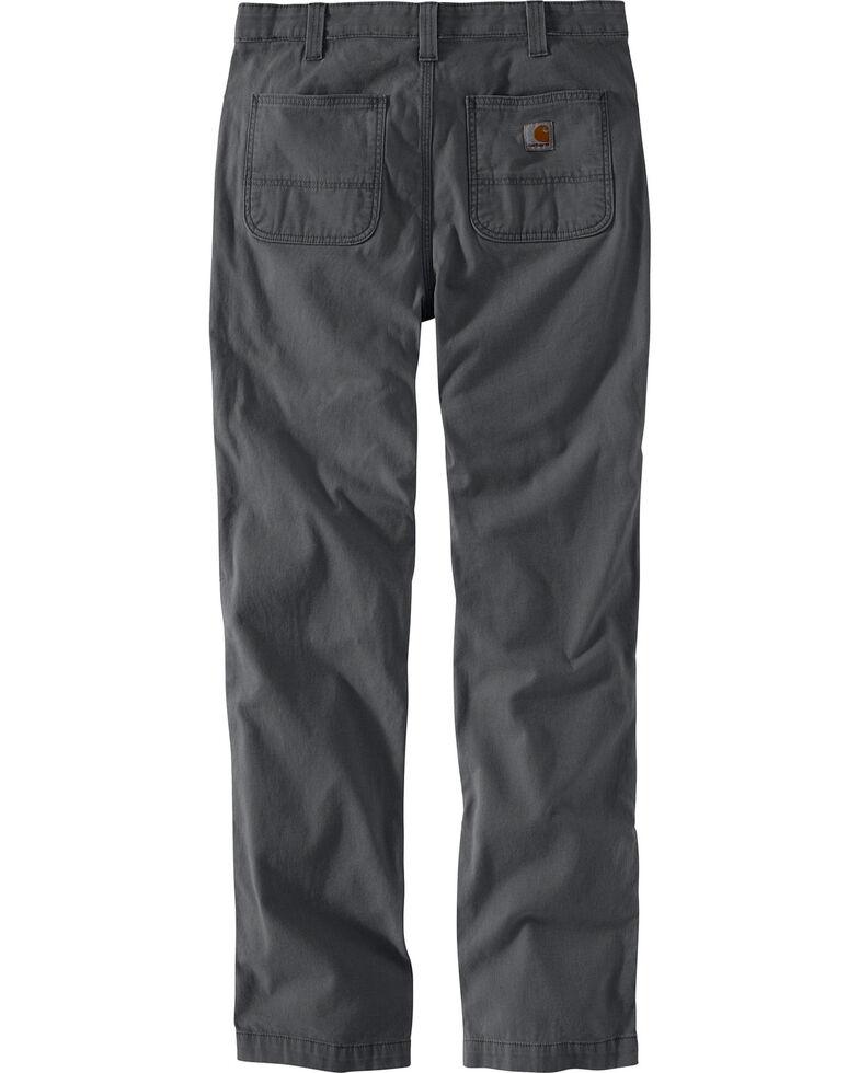 Carhartt Men's Rugged Flex Rigby Straight-Fit Pants - Straight Leg , Charcoal, hi-res