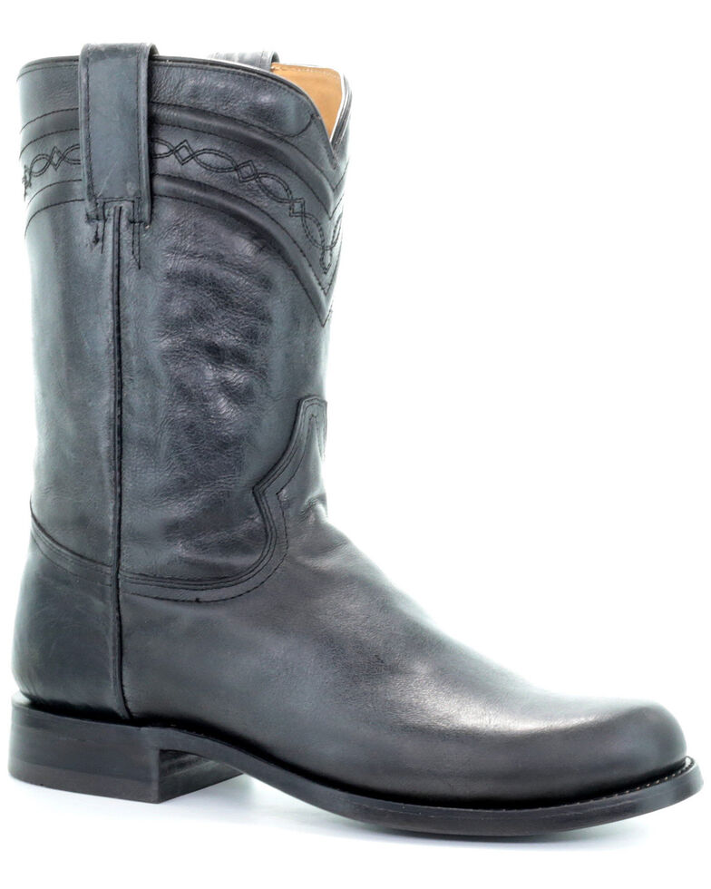 Corral Men's Lee Black Western Boots - Narrow Square Toe, Black, hi-res