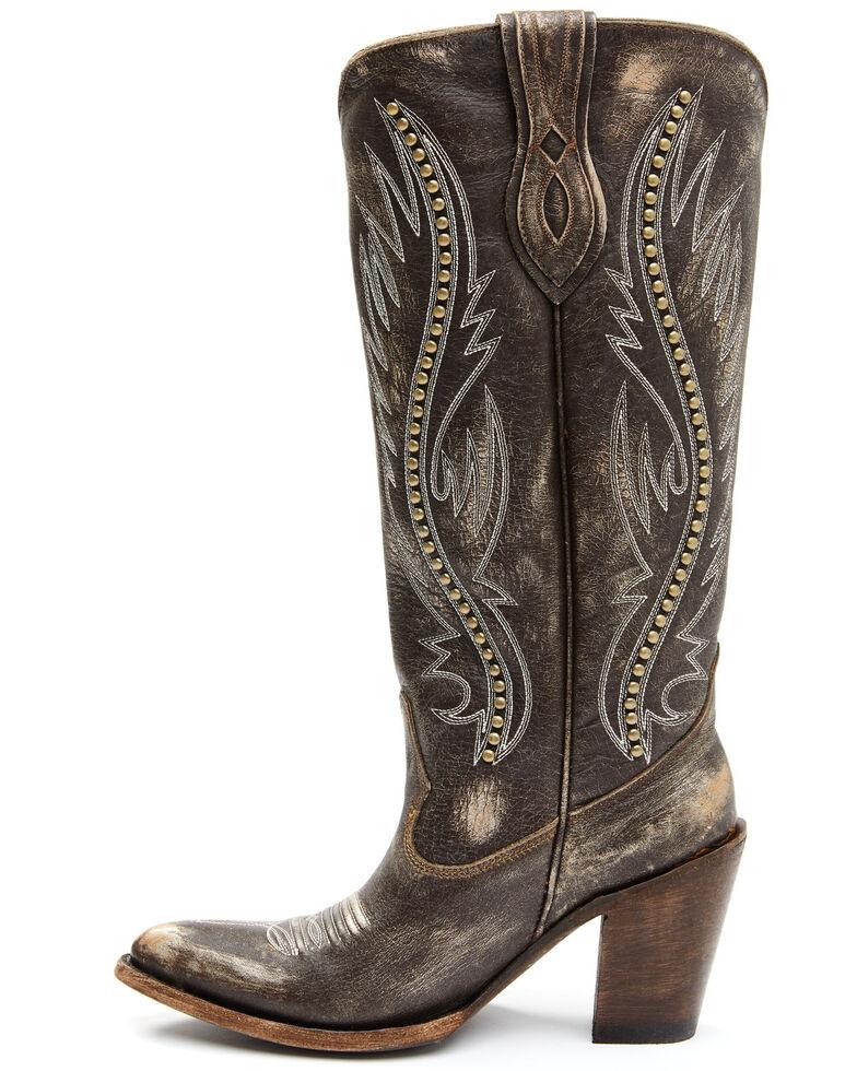 Idyllwind Women's Joyride Western Boots - Round Toe, Brown, hi-res