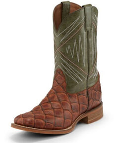 94292085655 Men's Square Toe Boots - Size 14 D - Boot Barn
