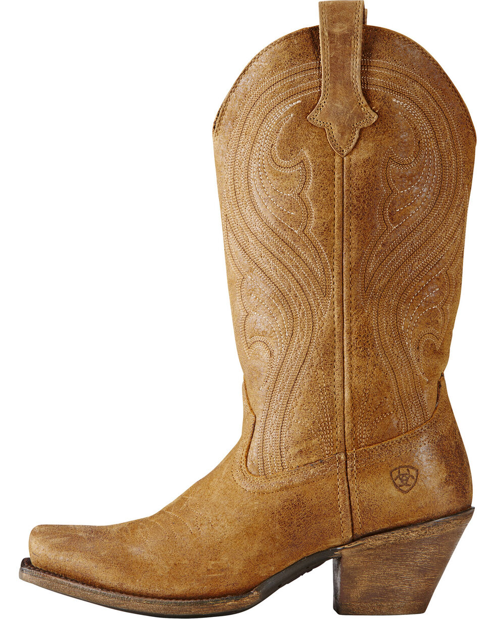 Ariat Women's Lively Western Boots, Brown, hi-res