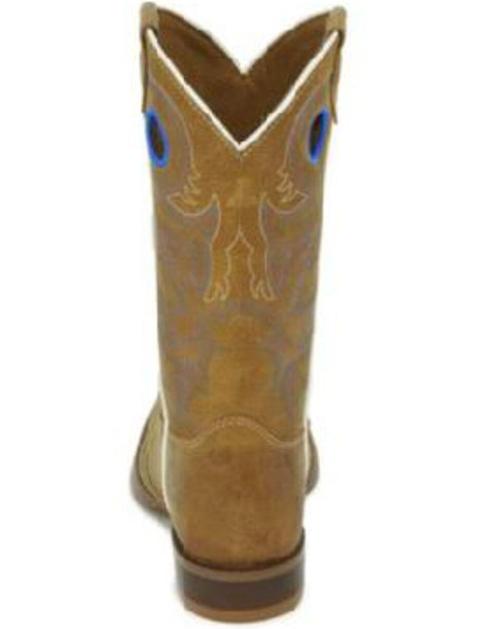 Justin Boys' Norman Western Boots - Square Toe, , hi-res