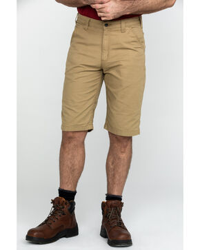 "Carhartt Men's Khaki Rugged Flex 13"" Rigby Work Shorts , Beige/khaki, hi-res"