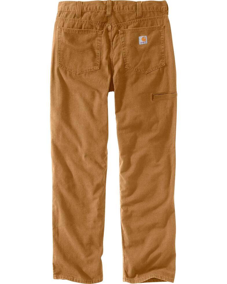 Carhartt Men's Rugged Flex Rigby Five-Pocket Jeans, Pecan, hi-res