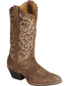 Twisted X Fancy Stitched Cowgirl Boots - Medium Toe dfc37b9838e