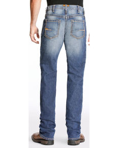 Ariat Men's Rebar M4 Edge Boot Cut Jeans - Big, Indigo, hi-res