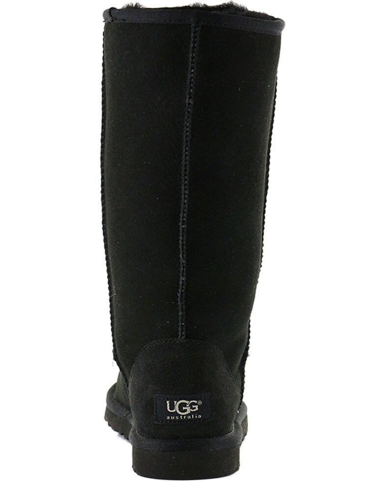 UGG Women's Black Classic Tall Boot - Round Toe, Black, hi-res