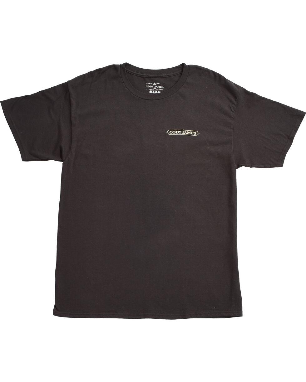Cody James Men's Blood, Sweat and Steers Short Sleeve T-Shirt, Black, hi-res
