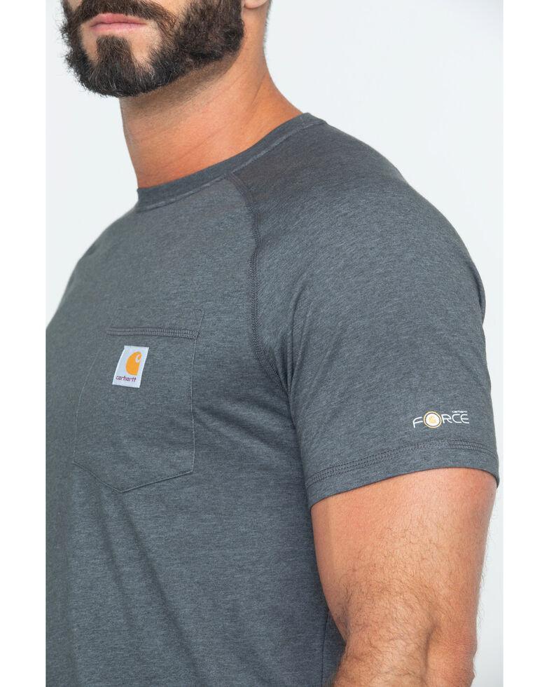 Carhartt Force Cotton Short Sleeve Shirt, Black, hi-res