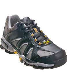 Nautilus Men's Steel Toe ESD Athletic Shoes, Black, hi-res