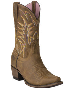 Junk Gypsy by Lane Women's Dirt Road Dreamer Western Boots - Snip Toe, Tan, hi-res