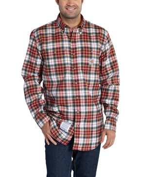 Carhartt Men's Flame Resistant Classic Plaid Shirt, Multi, hi-res