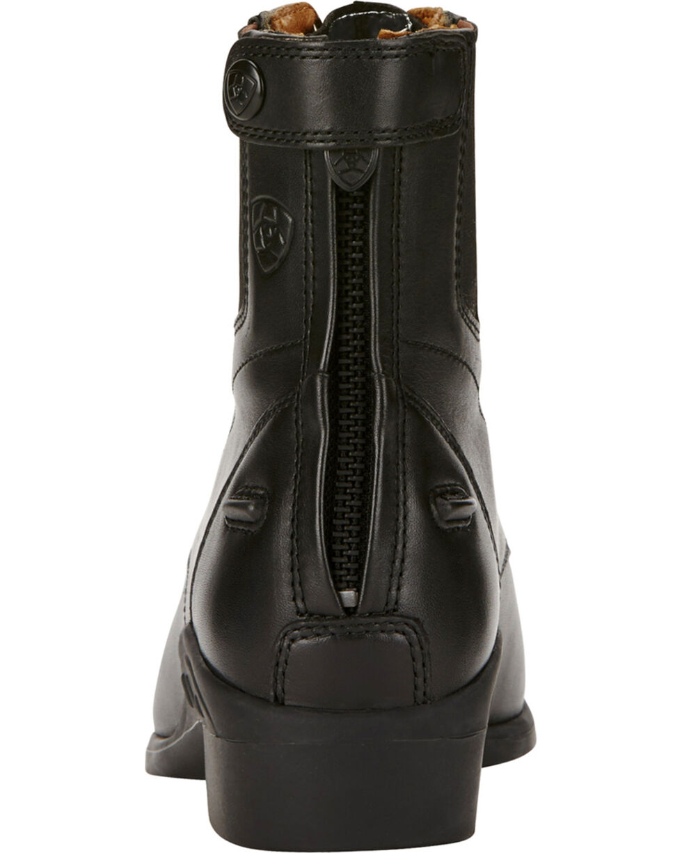 Ariat Performer Riding Boots - Round Toe, Black, hi-res