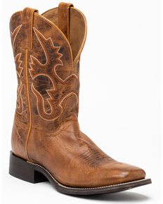 Cody James Men's Tan Western Boots - Square Toe, Tan, hi-res