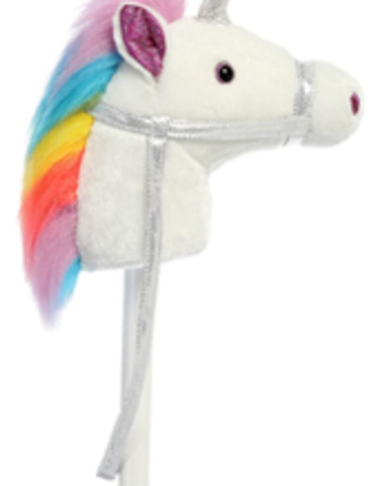 Aurora Girls' Rainbow Unicorn Horse Toy, Multi, hi-res
